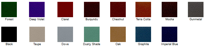 Leander Table Cushion Color Options
